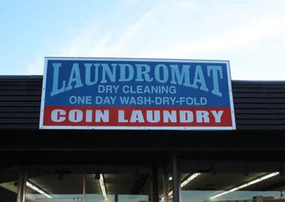 Laundromat-Sign